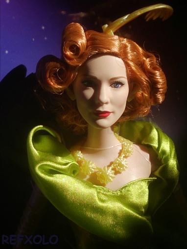 CATE BLANCHETT cinderella stepmother barbie doll