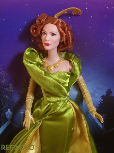 CATE BLANCHETT cinderella step mother barbie doll