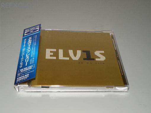 写真:ELVIS PRESLEY elvis30#1hits Blu-spec CDの画像