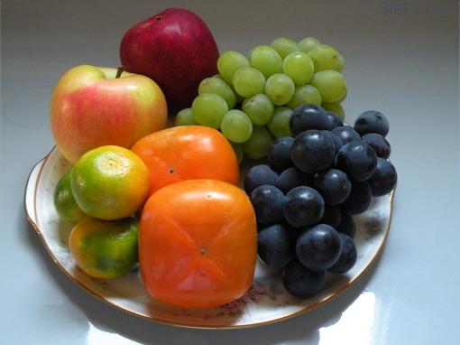 写真:秋の果物の画像