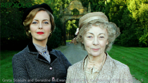 Greta Scacchi and Geraldine McEwan in 2006's 'By the Pricking of My Thumbs'