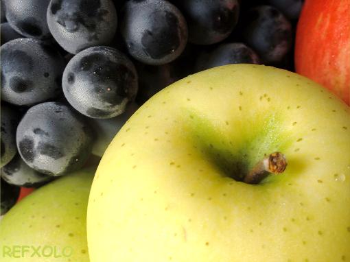 写真秋の果物の画像