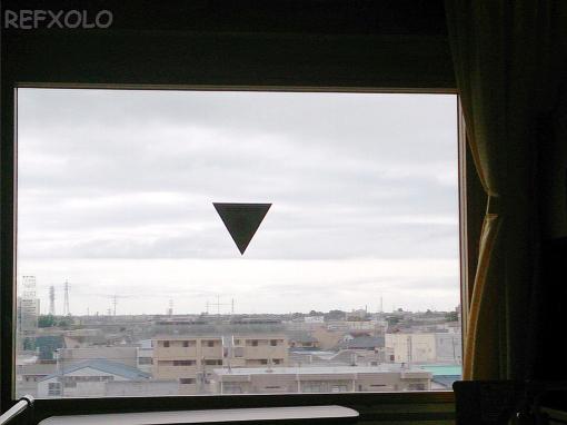病室の窓から
