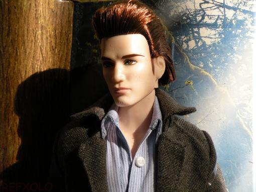 Beautiful vampire Edward barbie doll
