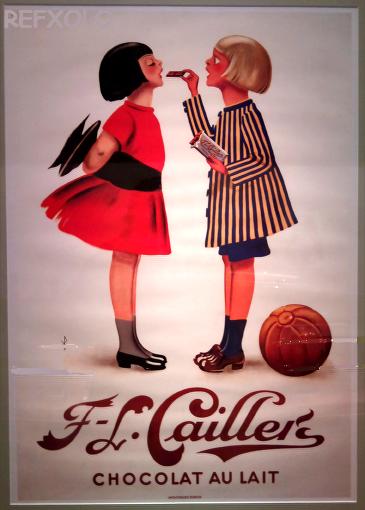 写真:チョコレートの甘い香り展展示ポスターの画像