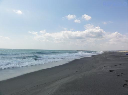 写真:誰もいない海