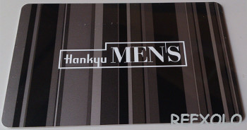 hankyu mens card