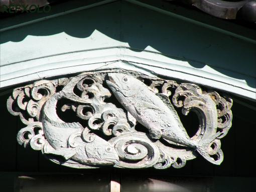 建物の飾り
