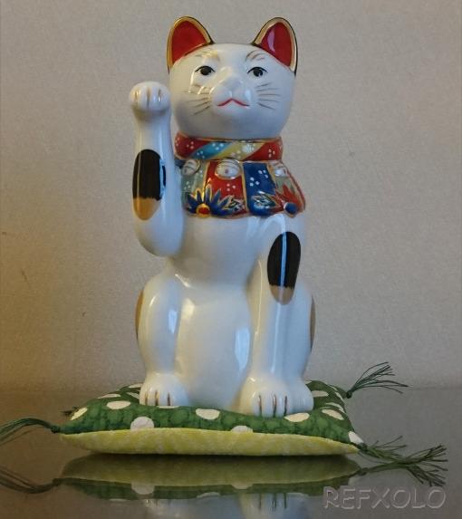 招き猫 伊勢丹ケイタマルヤマ コラボ
