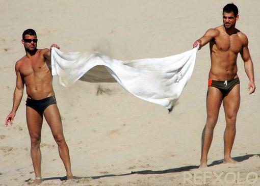 Ricky Martin Beach