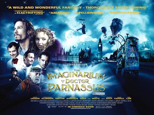 Heath Ledger The Imaginarium of Doctor Parnassus