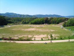都田総合公園の競技場