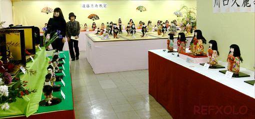 久月人形学院作品展2013年