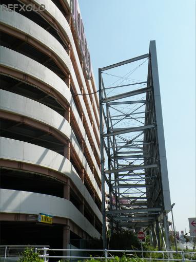 写真:巨大ソーラーパネルを設置した志都呂AEONの画像