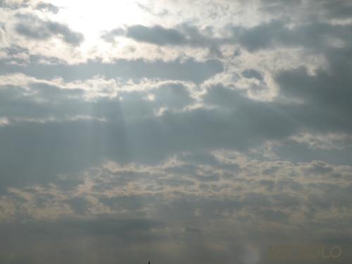 写真:西の空の画像