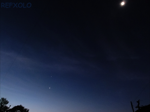 the 3stars and moon 20120711
