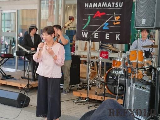 浜松ジャズウィーク モール街女性ボーカル