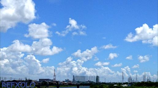 白い積乱雲