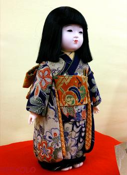 月舟先生の市松人形
